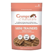Crump's Naturals Mini Trainers Salmon Snaps Dog Treats, 8.8-oz Bag