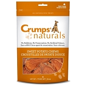 Crump's Naturals Sweet Potato Dog Chews, 24-oz Bag