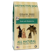 Distinctive Dog Duck with Blueberries Grain-Free Dog Treats