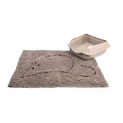 Dog Gone Smart Cat Litter Mat, Grey