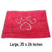 Dog Gone Smart Dirty Dog Doormat, Large, Maroon