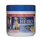 Heiro for Dogs Natural Supplement, 300 Scoops
