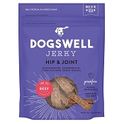 Dogswell Hip & Joint Beef Recipe Jerky Dog Treats, 10-oz Bag