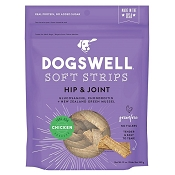 Dogswell Hip & Joint Chicken Recipe Soft Strips Dog Treats, 12-oz Bag