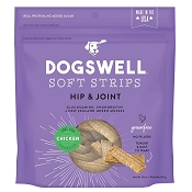 Dogswell Hip & Joint Chicken Recipe Soft Strips Dog Treats, 20-oz Bag