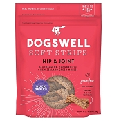 Dogswell Hip & Joint Duck Recipe Soft Strips Dog Treats, 10-oz Bag
