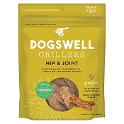 Dogswell Hip & Joint Grillers Grain-Free Chicken Recipe for Dogs, 12-oz Bag