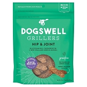 Dogswell Hip & Joint Grillers Grain-Free Duck Recipe for Dogs, 10-oz Bag