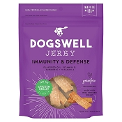 Dogswell Immunity & Defense Chicken Recipe Jerky Dog Treats, 12-oz Bag