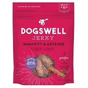 Dogswell Immunity & Defense Duck Recipe Jerky Dog Treats, 12-oz Bag