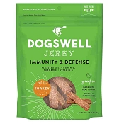 Dogswell Immunity & Defense Turkey Recipe Jerky Dog Treats, 10-oz Bag