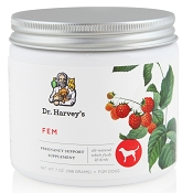 Dr. Harvey's FEM Female & Pregnancy Dog Supplement, 7-oz tin