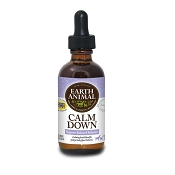 Earth Animal Calm Down Anxiety Remedy for Dogs & Cats, 2-oz Bottle
