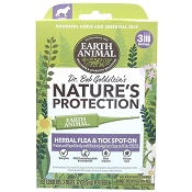 Earth Animal Nature's Protection Herbal Flea & Tick Spot-On Treatment for Large Dogs
