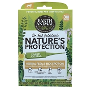 Earth Animal Nature's Protection Herbal Flea & Tick Spot-On Treatment for Small Dogs