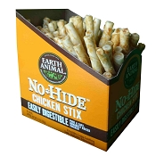 Earth Animal No Hide Chicken Stix Dog Treats, 90 Count Box