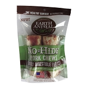Earth Animal No Hide Pork Chews Dog Treats, 4