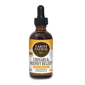 Earth Animal Urinary & Kidney Relief Remedy for Dogs & Cats, 2-oz Bottle