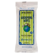 Earthbath Green Tea & Awapuhi Grooming Wipes for Dogs & Cats, 28 count