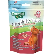 Emerald Pet Feline Health Treats Urinary Tract Control Cat Treats, 2.5-oz bag