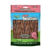 Emerald Pet Piggy Twizzies No-Rawhide Dog Chews 6