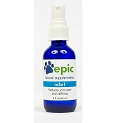 Epic Pet Health Relief Electrolyte Joint Pain & Stiffness Relief Supplement for Dogs & Cats, 1-oz Spray