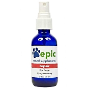 Epic Pet Health Repair Natural Electrolyte Odorless Injury and Illness Recovery Supplement for Dogs & Cats, 1-oz Spray