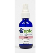 Epic Pet Health Skin Electrolyte Itchy and Flaky Skin Relief Supplement for Dogs & Cats, 1-oz Spray