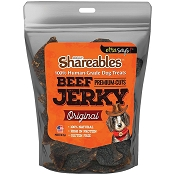 Etta Says Shareables Human-Grade Beef Jerky Dog Treats, 2.85-oz Bag