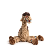 fabdog® Floppy Camel Plush Squeaker Dog Toy, Small