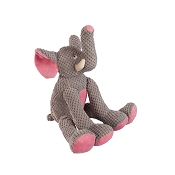fabdog® Floppy Elephant Plush Squeaker Dog Toy, Small