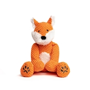 fabdog® Floppy Fox Plush Squeaker Dog Toy, Small