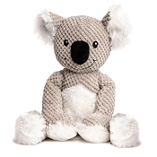 fabdog® Floppy Koala Plush Squeaker Dog Toy, Large