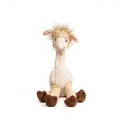 fabdog® Floppy Llama Plush Squeaker Dog Toy, Small