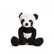 fabdog® Floppy Panda Plush Squeaker Dog Toy, Small