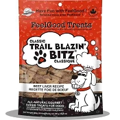 FeelGood Classic Trail Blazin Bitz Beef Liver Recipe Dog Treats, 10.6-oz Bag