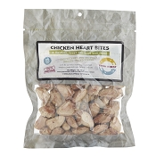 Fresh Is Best Freeze-Dried Chicken Heart Bites Dog Treats