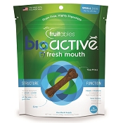 Fruitables Bioactive Fresh Mouth Dental Dog Treats, For Small Dogs