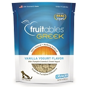Fruitables Greek Vanilla Yogurt Crunchy Dog Treats