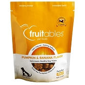 Fruitables Pumpkin & Banana Flavor Crunchy Dog Treats