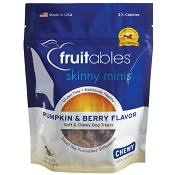 Fruitables Skinny Minis Pumpkin & Berry Flavor Soft & Chewy Dog Treats
