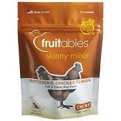 Fruitables Skinny Minis Rotisserie Chicken Flavor Dog Treats