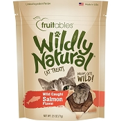 Fruitables Wildly Natural Wild Caught Salmon Flavor Cat Treats, 2.5-oz bag