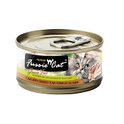 Fussie Cat Premium Smoked Tuna Formula Grain-Free Canned Cat Food, 2.82-oz, case of 24