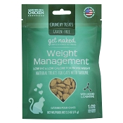 Get Naked Weight Management Grain-Free Crunchy Cat Treats