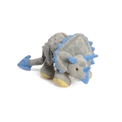 GoDog Dinos Frills The Triceratops Dog Toy, MINI