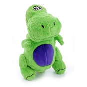 goDog Dinos T-Rex with Chew Guard Dog Toy Large