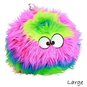 GoDog Furballz Rainbow Chew Guard Dog Toy, Large
