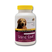 Grand Meadows Grand Coat Supplement for Dogs, 60-Count