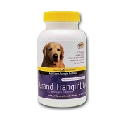 Grand Meadows Grand Tranquility Calming Supplement for Dogs, 60-Count